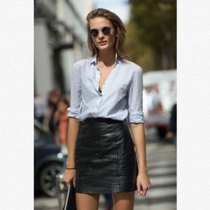 Dresses & Skirts - MICRO MINI Black Leather Skirt